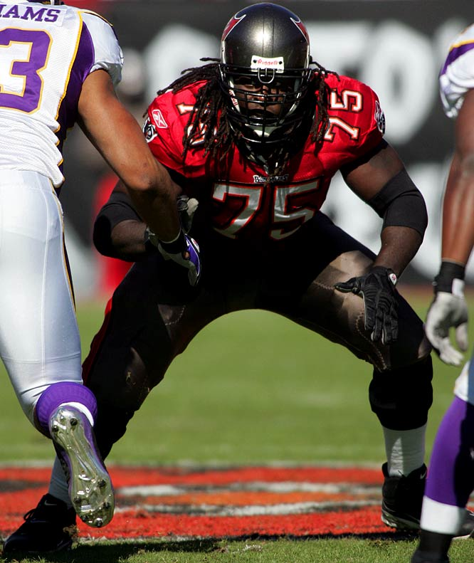 Joseph quickly transitioned from the college to the pro game, starting 12 of the 13 games he played in his rookie year. He has since become the Buc's full-time starter at right guard and was selected a substitute on the 2008 Pro Bowl team.