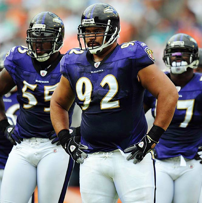 As a rookie, Ngata bulled his way onto the starting lineup of the Ravens veteran defense and become one of the league's best run-stuffing tackles.