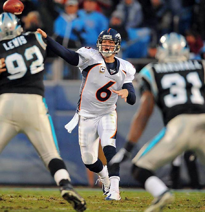 Cutler appeared to be Denver's QB of the future after starting every game since Week 12 of his rookie season and earning a Pro Bowl nod in 2008. But Cutler butted heads with new coach Josh McDaniels this offseason and forced a trade to Chicago, which hopes Cutler will be their QB of the future.