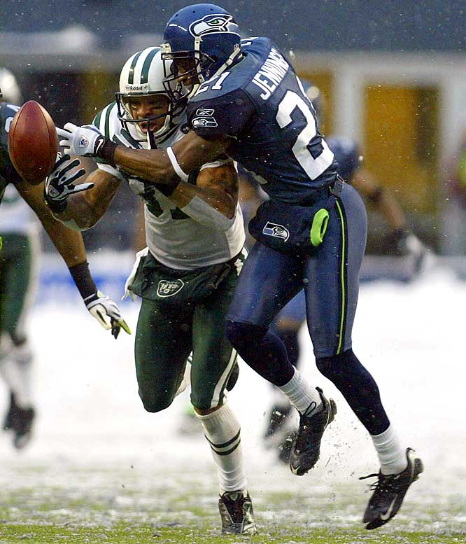 Jennings has been a consistent piece of Seattle's defense. He recorded 41, 55 and 42 tackles and one total interception from 2006-08, playing 16 games each year.