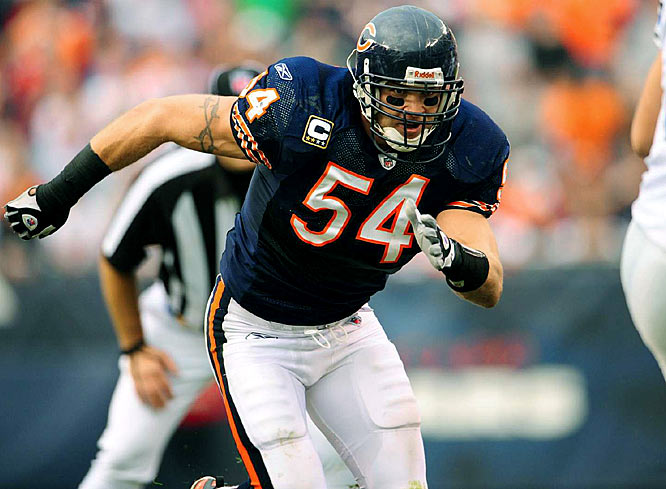 The very noticeable slide by the Bears defense in 2008 was directly connected to Urlacher's drop in production. But he still is in his prime, or should be. Only injuries can keep Urlacher from rebounding.