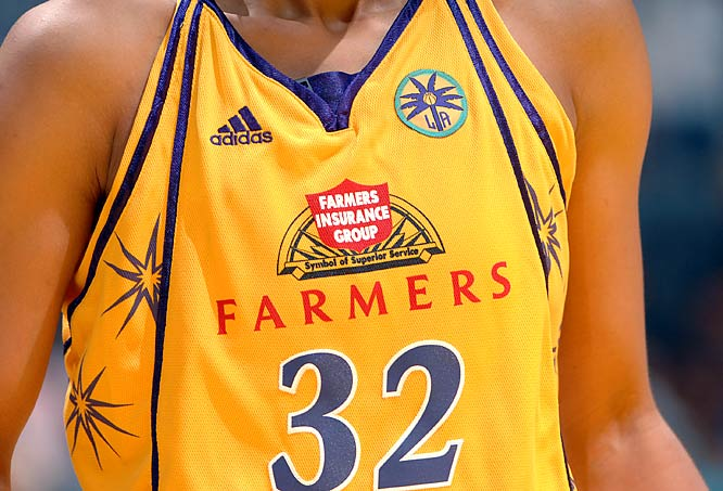 "With sponsors popping up all over sports, it was only a matter of time before they took over the front of jerseys in the United States like they do in international sports. The WNBA's Sparks and Mercury now have corporate names on their uniforms, which begs the question: How long before struggling NBA teams follow suit? ""It won't be in the near future,"" commissioner David Stern said. Then again, if the economy doesn't pick up, does anyone doubt we'll be seeing a big Payless logo on the front of Clippers jerseys?"