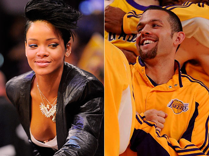 While most were focused on Rihanna's reaction to seeing Chris Brown during the NBA Finals in Orlando, or her checking out rumored love interests Andrew Bynum and Rashard Lewis, we hear the pop star was actually most excited to see Lakers guard Jordan Farmar. Rihanna and Farmar have been friends for a couple of years.