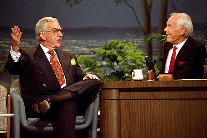 "The greatest second banana in history (sorry, Scottie Pippen) will not only be remembered for belting out ''Here's Johnny!'' and punctuating Carson's jokes with a thunderous ""Yes!"" but he also should be credited as the inspiration for the character of Hank Kingsley in <i>The Larry Sanders Show</i>. If not for Kingsley, Howard Stern would not have been able to steal his signature phrase, ''Hey now!''"