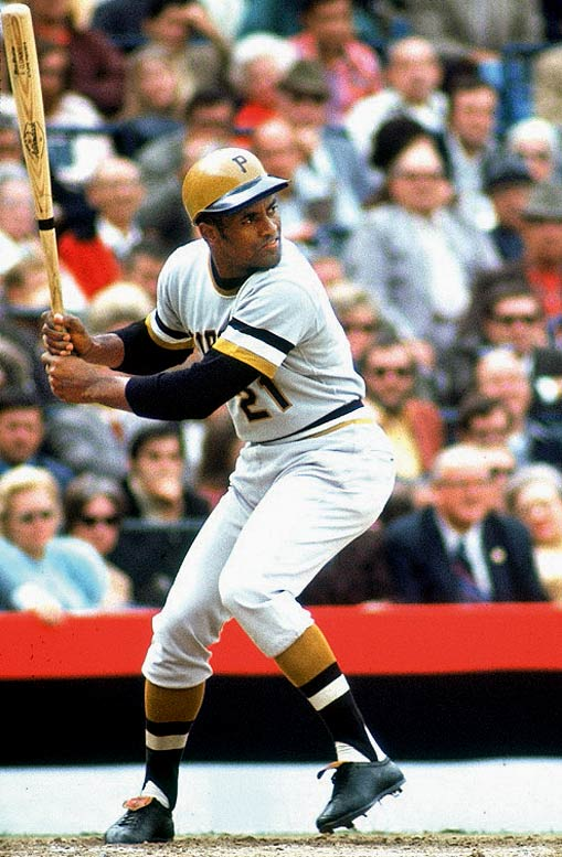 The series was defined by Roberto Clemente, who at 37, finally was given the national stage he craved. The Orioles won the first two games at home but with Clemente tearing up the baseball (he hit .414 in the series with 12 hits in 29 at-bats), the Pirates won Game 7 in Baltimore behind a complete-game victory by Steve Blass.