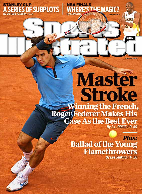 The honors keep piling up in the wake of his historic victory at Roland Garros, where Federer tied Pete Sampras' record of 14 major titles and became just the second man to complete the career Grand Slam on three different surfaces. Federer landed the cover of <i>Sports Illustrated</i> and his hometown of Basel, Switzerland, is renaming its international tennis venue in his honor.