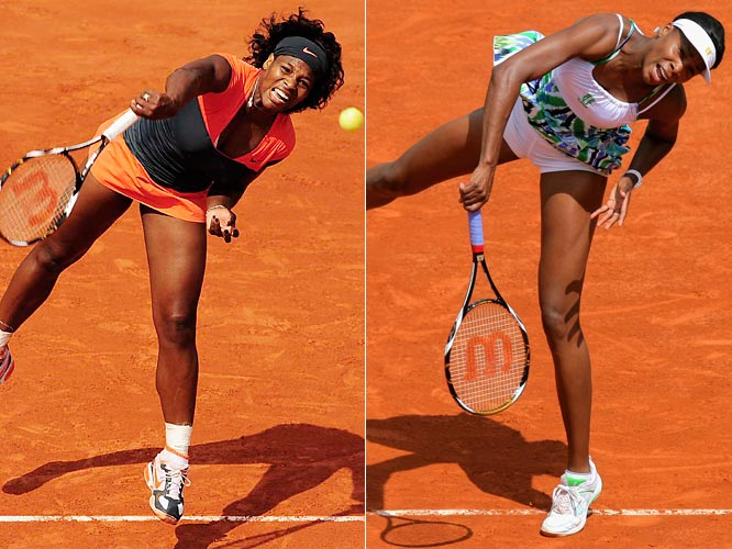 Serena and Venus Williams (the defending champion) landed on different sides of the Wimbledon draw, meaning the sisters could meet in the final like they did last year. In the men's tournament, Rafael Nadal's absence opens the door for Andy Murray and Andy Roddick, who were on the same side of the draw as the reigning champion.
