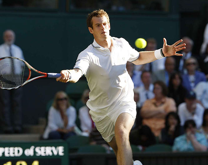 The pressures continue to mount for the Scot as he pushes for his first Wimbledon crown.