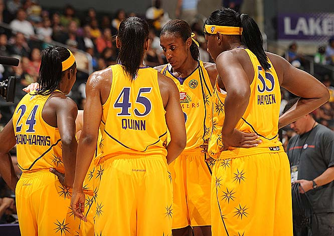 The temptation is to look at the Sparks' two-game split with Detroit and call these teams even, especially given L.A.'s 81-52 loss in Detroit. But the Spark is still without reigning MVP Candace Parker, who's enough of a force to tilt the scale in L.A.'s favor.<br><br>Next three: 6/10 at Minnesota; 6/12 at Indiana; 6/19 at Phoenix