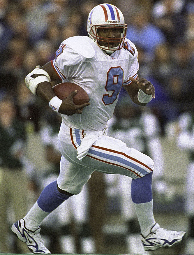 McNair's career began with the Houston Oilers, who later became the Tennessee Titans.