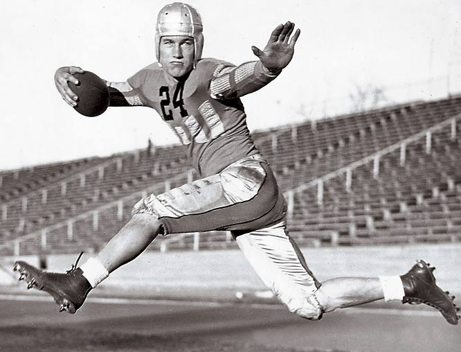 A remarkable scholar-athlete, White was an All-America for Colorado and played pro football for  the Pittsburgh Pirates (yep, Pirates) and Detroit Lions. In 1962 he was appointed as a Justice of the U.S. Supreme Court by President John F. Kennedy. He served for 31 years, before retiring in 1993.