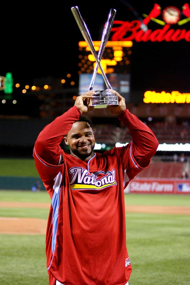 Fielder finished with a total of 23 homers, including six in the final round -- good enough to earn the hardware.