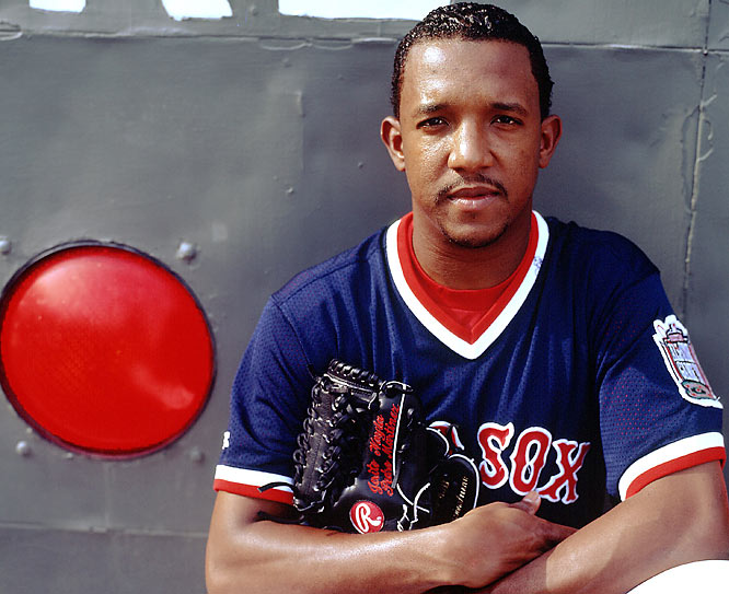 Pedro Martinez played seven seasons in a Red Sox uniform and was the game's most dominant pitcher in the late '90s.