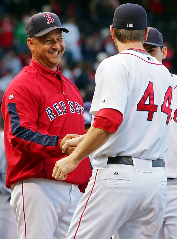 The Red Sox have won two of the past six World Series titles under Francona, who helped end the Curse of the Bambino in 2004.