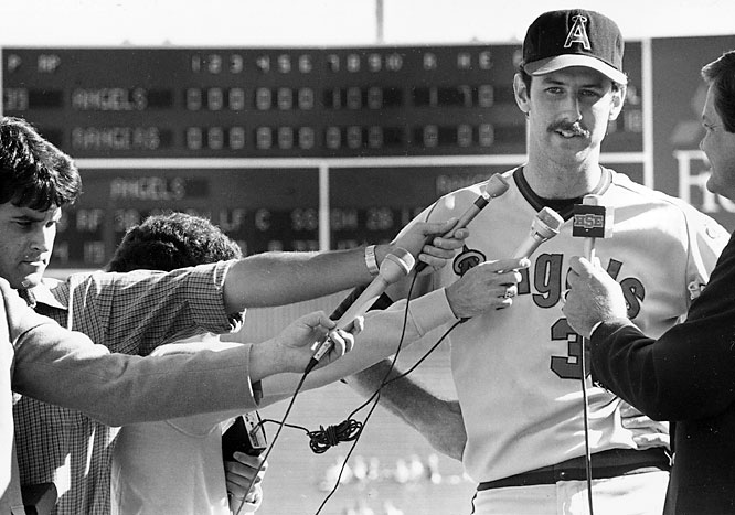 Witt struck out 10 in a game that took just 1:49 to complete. Fred Lynn and Doug DeCinces each contributed two hits and designated hitter Reggie Jackson drove in the game's only run in the top of the seventh.