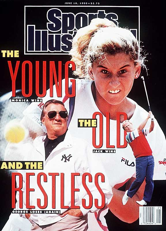 A few months after winning her first French Open (and getting the first of her three <i>SI</i> covers), Seles outlasted reigning U.S. Open champion Gabriela Sabatini 6-4, 5-7, 3-6, 6-4, 6-2 in a historic final at the 1990 Virginia Slim Championships, capping a year in which she went 54-6 and climbed to No. 2 in the rankings. The 3-hour, 47-minute match was the first women's five-setter in 87 years.