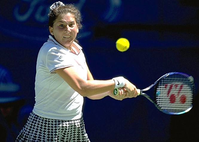 Seles won the last of her nine Grand Slam championships at the 1996 Australian Open, which co-No. 1 Steffi Graf missed with a foot injury. An emotional Seles beat Anke Huber in the final for her fourth title in her final four appearances in the tournament.