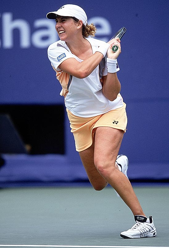 Even with the '96 Australian Open title, Seles, in her words, was ''not even close'' to the same player after the incident in Hamburg. Struggling with her weight and hampered by a foot injury, Seles' final WTA match was a first-round loss at the 2003 French Open (though she didn't officially retire until 2008). In her recently released book, <i>Getting a Grip: On My Body, My Mind, My Self</i>, Seles revealed that she suffered from a food addiction after the stabbing incident and her father's subsequent cancer diagnosis.
