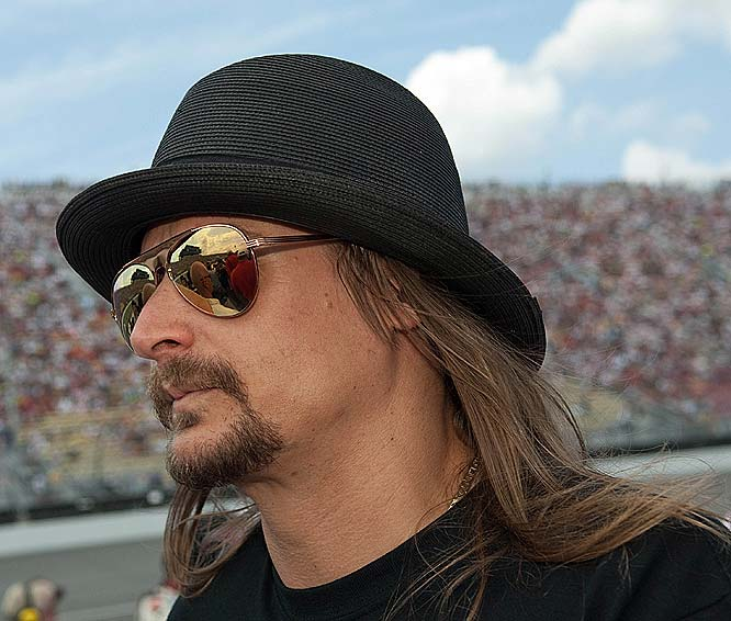 Kid Rock served as the grand marshal for LifeLock 400.