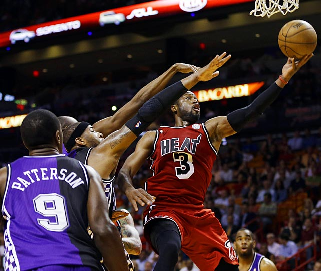 In his second game playing under his self-proclaimed new nickname -- WOW (World of Wade) -- Dwyane Wade scored a season-high 39 points as the Miami Heat won 141-129 in double overtime over Sacramento. Wade also tied a career best with 19 field goals under the new moniker, which teammate LeBron James says is corny. Whether WOW will become as popular as these other NBA nicknames -- and we have our doubts -- only time will tell.