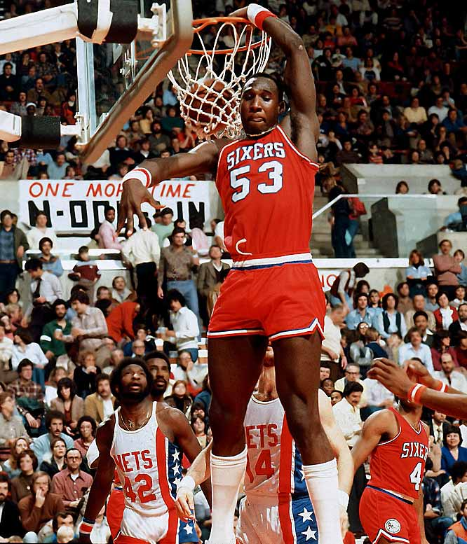 One of the NBA's most endearing characters, Dawkins not only gave himself a variety of nicknames (Sir Slam, Dr. Dunkenstein), but also named his dunks (The Rim Wrecker, The Go-Rilla, The Look Out Below). However, the former center will always be known as Chocolate Thunder for his ferocious play in the paint.