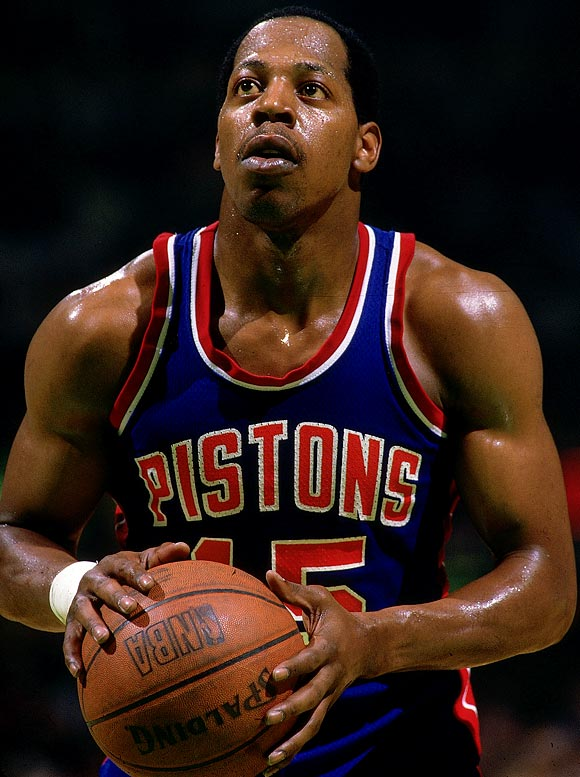 Danny Ainge coined this nickname as a tribute to the Detroit guard, whose instant offense and ability to heat up in limited playing time wreaked havoc havoc on many Pistons opponents during the late '80s.