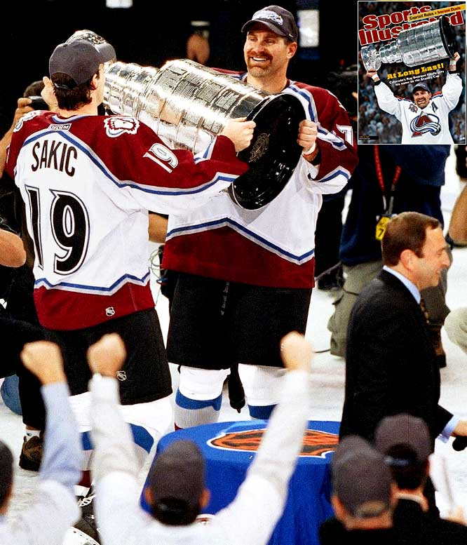 Sakic was revered by his teammates. In one of the signature moments of his career, upon the presentation of the 2001 Stanley Cup, rather than raise it as is the captain's right, Sakic immediately handed it to defenseman Raymond Bourque, who had waited 22 years to win it.