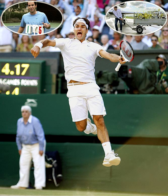 It was only right that Federer would win his record 15th Grand Slam by outlasting Andy Roddick in one of the greatest Wimbledon finals ever. The only thing more impressive than his accomplishment was the number of pre-made commercials that rolled out for Federer moments after the match.