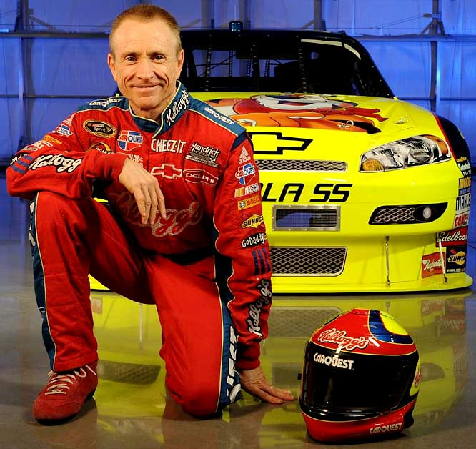 At 50, Mark Martin is one of the 12 drivers in NASCAR's Chase for the Championship and is seeded No. 1 on the strength of his series-high four victories during the regular season. His performance is right up there among the feats accomplished by some other elder jocks. Here are our favorites.