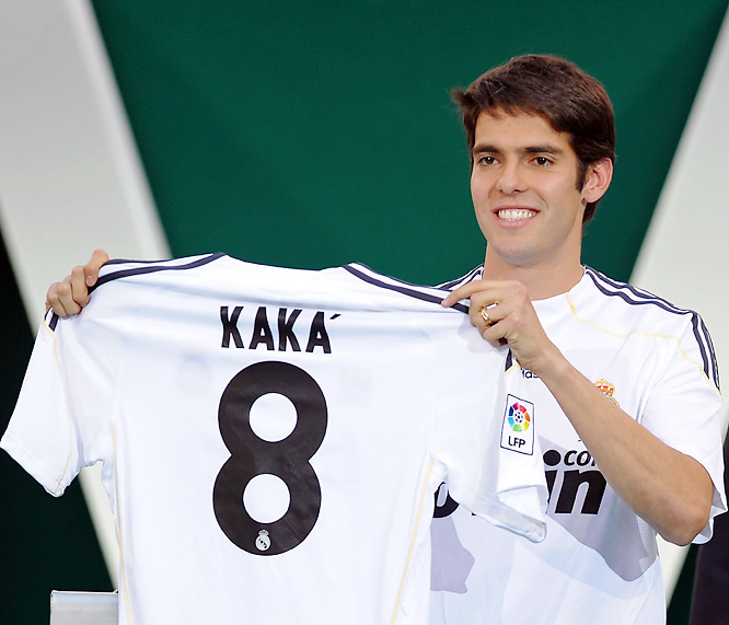 "Newly elected Florentino Pérez -- the architect of Real Madrid's first ""Galáctico"" days -- got the man he coveted in his successful bid to regain the club presidency: yet another former FIFA World Player of the Year in the Brazilian maestro. Kaká rejected an even more lucrative move to Manchester City in January, but was happy to move to Madrid, the only club for which he claimed he'd ever leave AC Milan."
