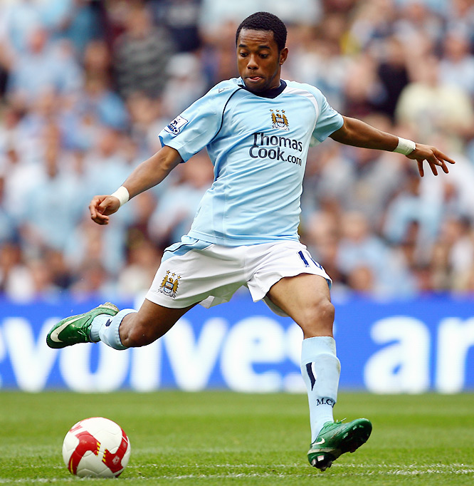 Most had expected the dribbling magician to make a move to Chelsea, where he'd be reunited with former Brazilian national-team coach Luiz Felipe Scolari. But flush with oil money from its new Arab owners, Manchester City made Robinho the most surprising transfer of the summer with a huge fee Real Madrid couldn't refuse.