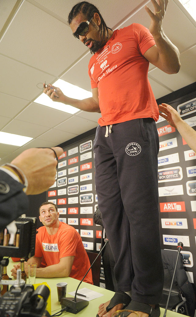 "No sooner had David Haye lost a lopsided unanimous decision to Wladimir Klitschko in a July 2 heavyweight unification fight than the 30-year-old Briton revealed he'd suffered a broken pinkie toe in training (even  tweeting a photo of the toe in question  shortly after the final bell). Haye hadn't mentioned the injury in the build-up to the fight, saying he was in the best shape of his life. Responded the victorious Klitschko at the post-fight press conference: ""Never say anything right now in the way of 'I had a broken toe; that's why I couldn't compete.' It's called a sore loser.""  Haye's alibi is merely the latest in a long line of head-scratchers."