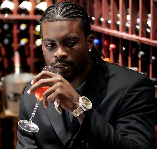 In January 2007, the Atlanta Falcons quarterback was detained at Miami Airport when security scanners found a hidden compartment in his water bottle that smelled like marijuana and appeared to contain residue. Vick insisted the compartment was just a stash box ... for his jewelry.