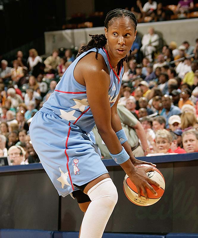 "Last year, you'd have had to squint to find an All-Star-quality player on a Dream team that went 4-30. But this year, they've got three newly minted ones in Chamique Holdsclaw (pictured) -- who was voted a starter by the fans -- Erika de Souza and Sancho Lyttle. For Holdsclaw, the selection is yet another encouraging result after a long battle with depression. For de Souza and Lyttle, said GM and coach Marynell Meadors, it validates ""their hard work and dedication.""<br><br>Next three: 7/30 vs. Phoenix; 8/1 vs. New York; 8/6 at San Antonio"