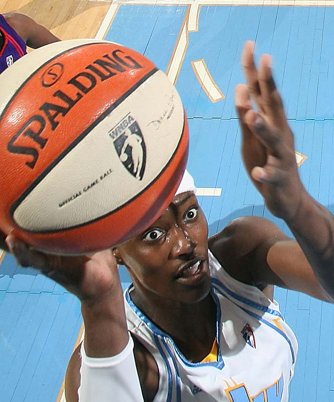 "What a difference Sylvia Fowles (pictured) makes. With her sidelined with a knee injury five of the past six games, the Sky went 2-4. Upon her return, the Sky defeated San Antonio (85-75). ""We try to play without Syl,"" said coach Steve Key of Fowles, who had 11 points and nine rebounds in the win, ""but she's a lot more than just points and rebounds.""<br><br>Next three: 7/23 at Washington; 7/29 vs. Los Angeles; 8/1 vs. Connecticut"