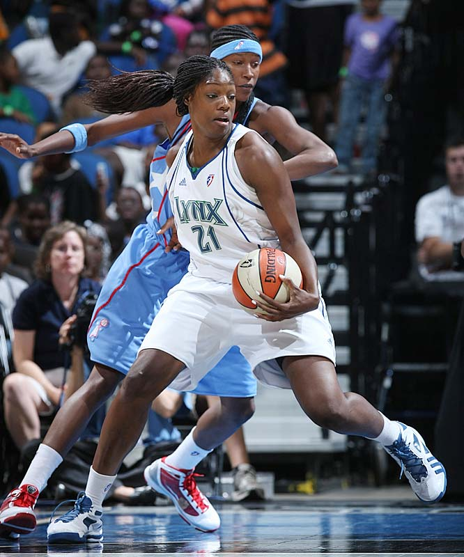 Anyone who saw Nicky Anosike (pictured) in college at Tennessee knows what a tremendous all-around defender and overall leader she is. Anyone who has seen her in the pros knows just how far her offensive game has come along. And now, thanks to her averages of 13.9 points on 53.6 percent shooting, we'll get to see her make her first career All-Star appearance on Saturday.<br><br>Next three: 7/22 at Phoenix; 7/28 vs. Los Angeles; 7/31 at Detroit
