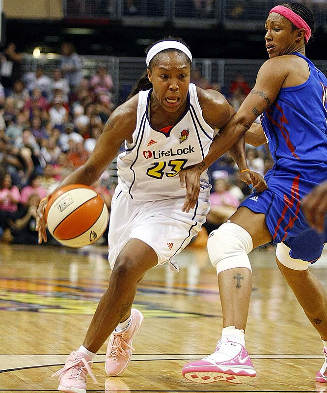Just as the Mercury said goodbye to Diana Taurasi for a two-game suspension stemming from DUI charges, it welcomed back Penny Taylor. In 2007, the 6-foot-1 Aussie combined with Taurasi and Cappie Pondexter (pictured) to form one of the league's most prolific scoring troikas and helped lead the Mercury to a WNBA title.  That year, she posted career highs in points (17.8), rebounds (6.3) and averaged 2.9 assists.<br><br>Next three: 7/18 vs. Detroit; 7/22 vs. Minnesota; 7/26 at New York