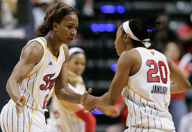 The WNBA's hottest team, the Fever, swept a home-and-home series with New York to extend a franchise-record tying six-game winning streak. Tamika Catchings, who averaged 18.5 points, 11.0 rebounds, 4.5 steals and 3.5 assists last week on the way to conference Player of the Week honors, has gotten much of the credit during Indiana's sizzling run, but Katie Douglas deserves just as much recognition. For the season, the veteran guard is making 45.8 percent of her field goals, 38.8 percent of her threes and paces the team with 18.1 points per game, which ranks fifth among the league's scoring leaders.<br><br>Next three: 7/2 vs. Connecticut; 7/5 vs. Atlanta; 7/10 at Chicago