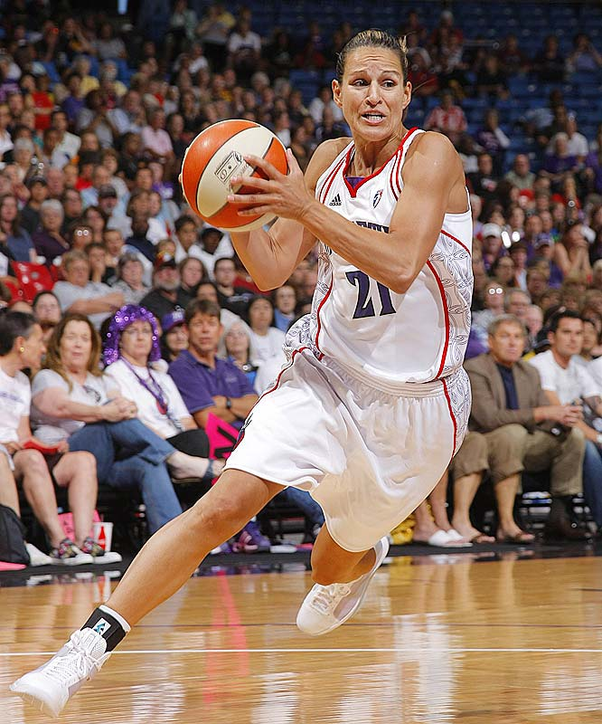 It was thought that Ticha Penicheiro (pictured) was the solution to much of what ailed the hapless Monarchs. But the four-time All-Star, who missed four games with a sprained thumb on her right hand, hasn't provided the Monarchs much of a lift since returning to the lineup last Friday. She averaged just 4.7 points and 3.0 assists in the Monarchs' losses to San Antonio (62-52), Detroit (86-72) and Chicago (74-72).<br><br>Next three: 7/2 at Minnesota; 7/7 vs. Chicago; 7/9 at Seattle