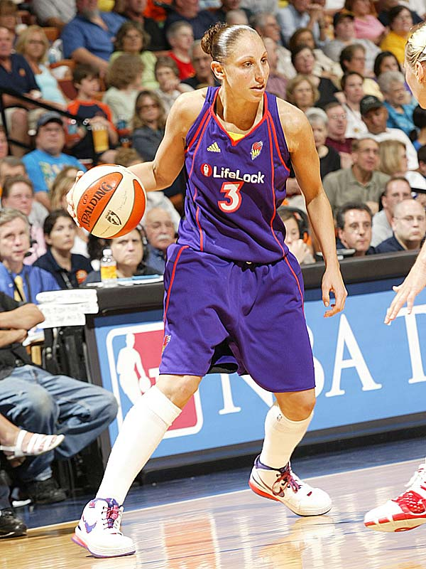 "Speaking of combo guards playing at stratospheric level, Diana Taurasi (pictured) has taken her game to vertiginous heights since returning to action following a two-game suspension for a DUI. After notching 18 points, four rebounds and four assists to help the West to a 130-118 victory in last Saturday's All-Star game, she scored 34 points and grabbed 13 rebounds to lead Phoenix to a 94-88 road win over New York. Said the Liberty's Shameka Christon, who shadowed Taurasi for most of the game, ""She was really determined to take over."" <br><br>Next three: 7/30 at Atlanta; 8/1 at Minnesota; 8/4 at Seattle"