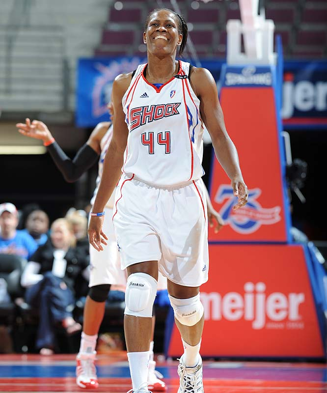 "Tuesday night's 90-70 win over the Sun gave the Shock its third straight victory. They had entered the Connecticut matchup one game out of playoff position in the East. ""We're not in a position where we can give any games away,"" said forward Taj McWilliams (pictured), who became the 10th player to score her 4,000th point last Sunday. ""This was a very important win for our playoff hopes.""<br><br>Next three: 8/27 vs. Atlanta; 8/29 at San Antonio; 9/1 vs. Phoenix"