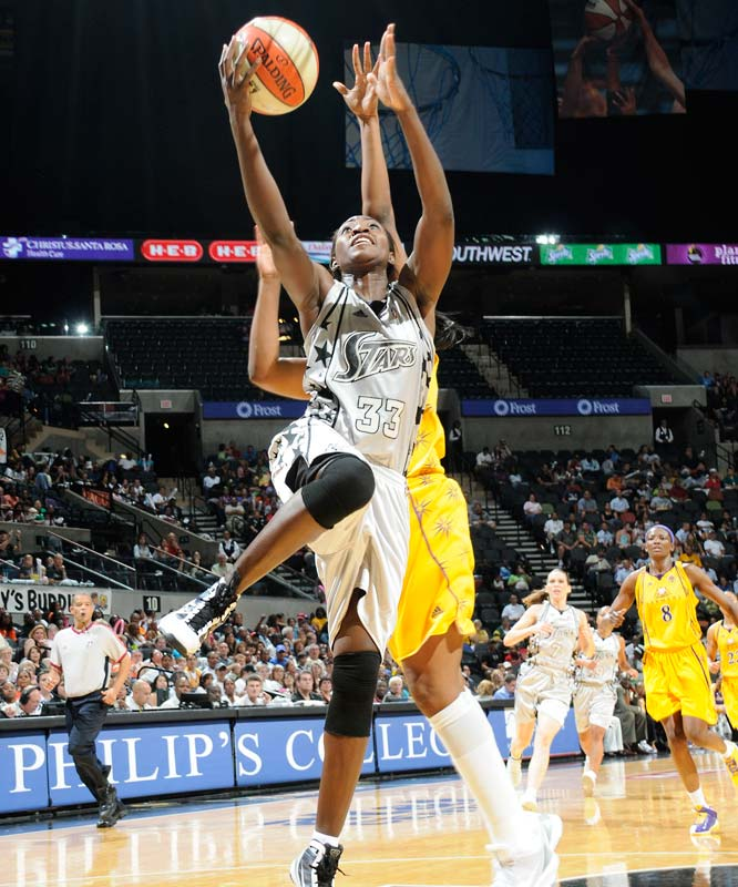 The Western conference champs have lost three straight and are in danger of falling out of the fourth and final playoff spot. And yet in the face of all those struggles All-Star forward Sophia Young (pictured) continues to thrive. The fourth-year pro scored her 2,000th career point last Friday in a 67-66 loss to Los Angeles. That made her the third player from the 2006 WNBA draft class after Minnesota's Seimone Augustus and Phoenix's Cappie Pondexter to achieve that milestone.<br><br>Next three: 8/27 at Indiana; 8/29 vs. Detroit; 9/1 at Detroit