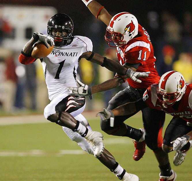 Gilyard may lack national fanfare, but he's one of the most potent players in the country. He  played a big role in Cincinnati's 2008 Big East title, catching 81 balls for 1,276 yards and 11 scores and notching four straight 100-yard games down the stretch. He also excelled on special teams, averaging 27.5 yards per return.