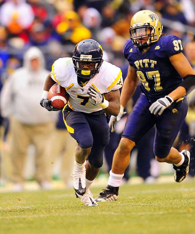 YouTube highlight reels made Devine a legend before he even arrived in Morgantown, and he's lived up to expectations since. In his first two seasons, he averaged just shy of seven yards per carry, and amassed 1,298 yards as the featured back his sophomore year. An increase in touchdowns now that QB Pat White's in the NFL should make Devine the Big East's strongest Heisman contender.
