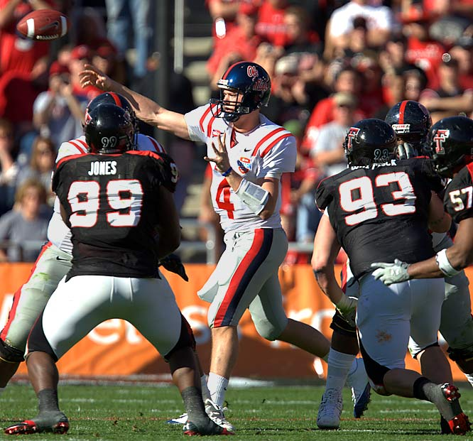 An all-everything recruit out of high school, Snead struggled to find his comfort zone at Texas, but has excelled at Ole Miss. Tim Tebow casts a shadow over all other SEC quarterbacks, but Snead has generated preseason hype as a dark horse Heisman contender.