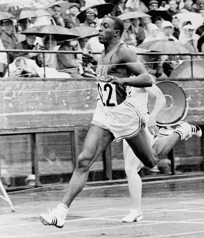 What a joy it must have been to see Bob Hayes with the Olympic gold in 1964, on a hard, dirt track in Tokyo. The innocence changed when Ben Johnson failed a drug test after running 9.79 to win the Olympic gold medal in the 100 in 1988. A two-sport star, Hayes was recently inducted into the Pro Football Hall of Fame