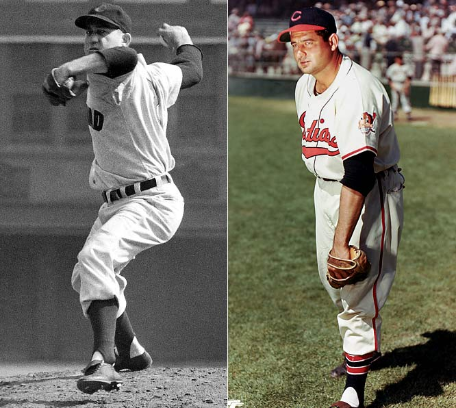 Both Hall of Famers, Lemon and Wynn terrorized American League hitters as teammates from 1949 to '57. During that time, Lemon led the league in wins three times, while Wynn had four 20-win seasons (including a league-leading 23 wins in 1954).