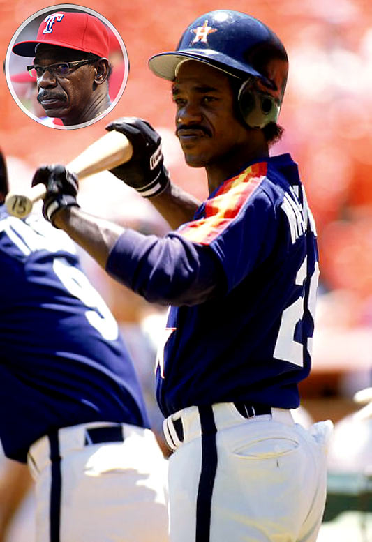Ron Washington played 10 seasons for five clubs, compiling lifetime totals of 20 home runs and 146 RBIs. His managerial apprenticeship took place in Oakland, where he served as the team's third base and infield coach from 1997 to 2006, tutoring many of the A's young stars. He was given his chance to take over a big league squad in 2006, when Texas fired Buck Showalter and named Washington the new manager. He led the Rangers to their first World Series appearance in 2010.