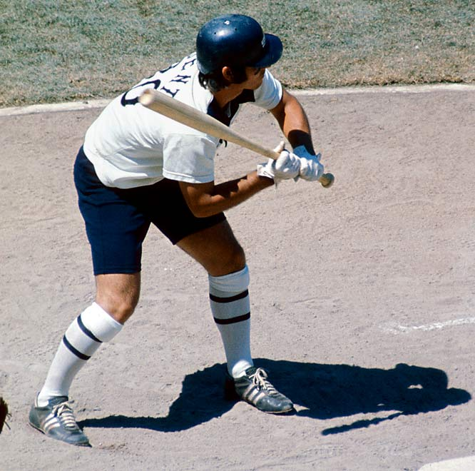 The shorts were only worn for three games during the 1976 season but that was enough to earn a permanent home on most of the Worst Uniforms Ever lists.