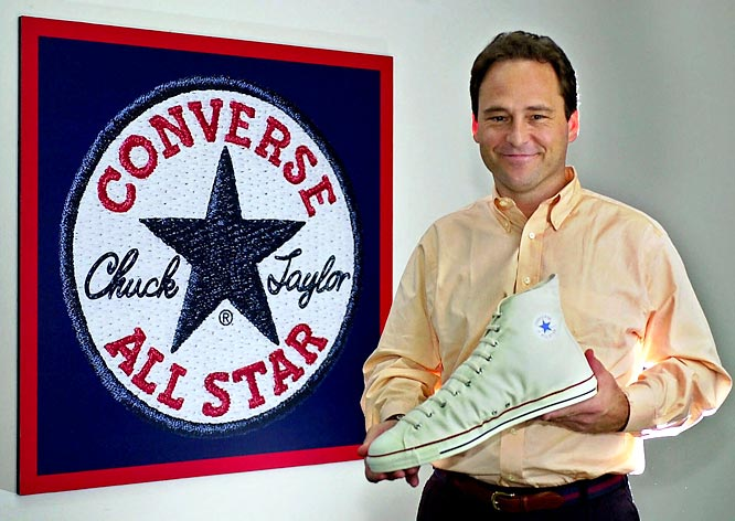 "Known as both Chuck Taylor All-Stars and Converse All-Stars, ""Chucks"" were first produced in 1917 as the ""All-Star."" They became popular when basketball player Charles ""Chuck"" H. Taylor adopted them as his preferred shoe."